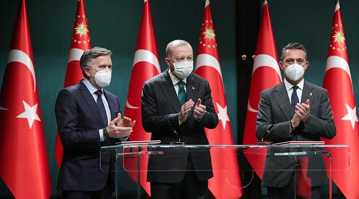 Erdoğan, Ford Otosan'ın yatırım toplantısında konuştu