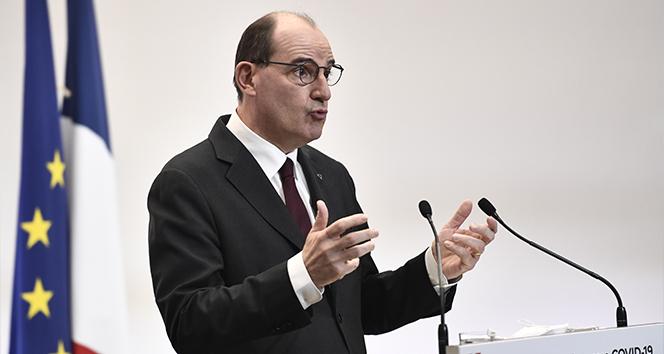 """Fransa Başbakanı Castex: """"Bir tür 3'üncü dalganın bir içindeyiz"""""""