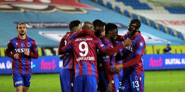 Trabzonspor zirveye yaklaştı! İşte güncel puan durumu